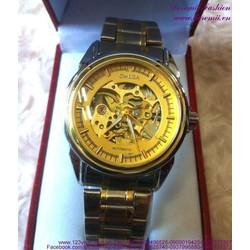 Đồng hồ cơ inox Ome đẳng cấp sang trọng DHDT133