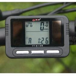 Đồng hồ xe đạp năng lượng mặt trời Bogger YT-812B