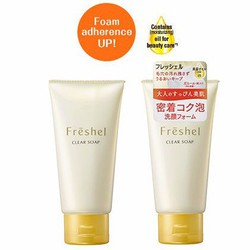 Sữa rửa mặt Kanebo Freshel Clear Soap 130g Nhật Bản