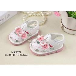 Dép sandal tập đi cho bé gái 6 - 18 tháng SD72