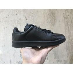Giày Stan Smith nam nữ đen cực năng động dễ phối cá tính