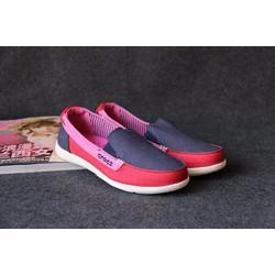 Giày Crocs walu cho nữ màu  xanh đen