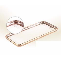 Ốp Shengo lưng trong viền dính đá cho Iphone 6