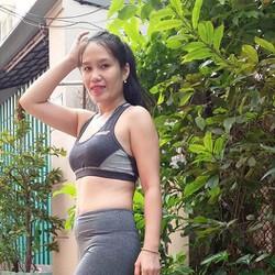 Bộ tập gym áo ngắn quần dài