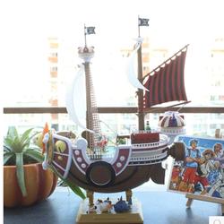 Mô hình thuyền Thousand Sunny 25 cm mũ rơm luffy one piece