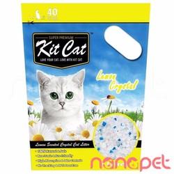 Cát Thủy Tinh KitCat Hương Chanh Cho Mèo Túi 5L