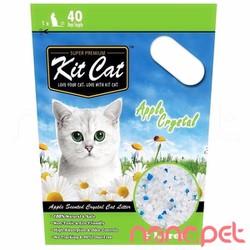 Cát Thủy Tinh KitCat Hương Táo Cho Mèo Túi 5L