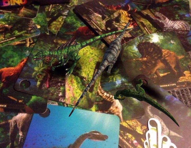 Bộ thẻ sách 3D Dino Age - Kỷ nguyên Khủng Long