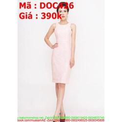 Đầm ôm dự tiệc sát nách thiết kế đơn giản thời trang DOV426