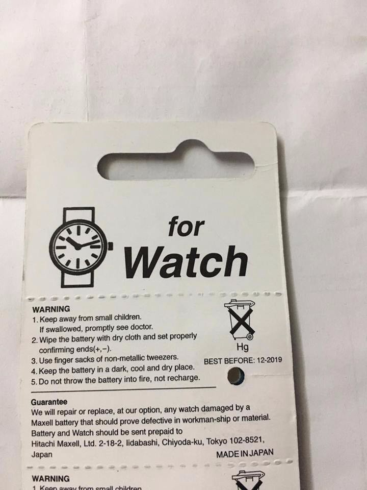 Pin đồng hồ nhật Maxell SR927SW - 395 2