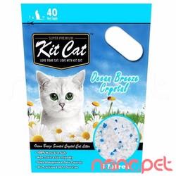 Cát Thủy Tinh KitCat Ocean Breeze Cho Mèo Túi 5L