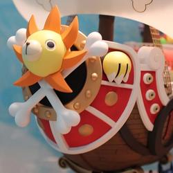Mô hình thuyền Tàu Thousand Sunny 25 cm mũ rơm luffy one piece