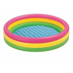 Bể bơi cầu vồng 3 tầng 86x25 Intex 58924