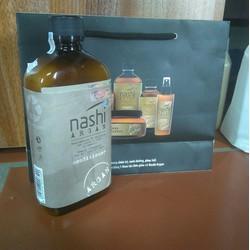 Dầu xả dưỡng phục hồi Nashi Argan 500ml