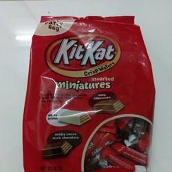 Kitkat miniature Hershey