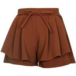 Quần Short Giả Chân Váy Thun Co Giãn Nữ SHORT NU 036 BR