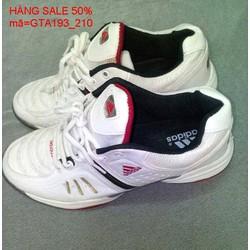 Giảm giá  giày thể thao nam cổ thấp trắng sang trọng GTA193