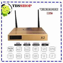 VinaBox X2. Smart Tv Box Chính Hãng Sản Xuất Tại Việt Nam
