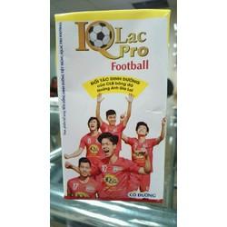 Sữa tươi IQ LAC PRO FOOTBALL cho bé năng động