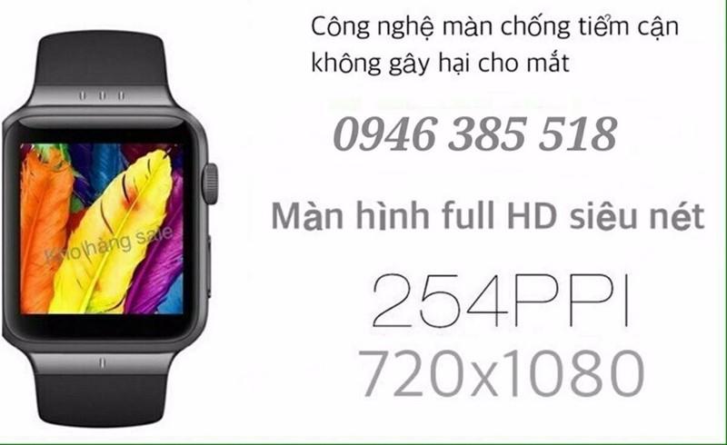 đồng hồ điện thoại SONY. siêu phẩm full HD mã W-Z1 4