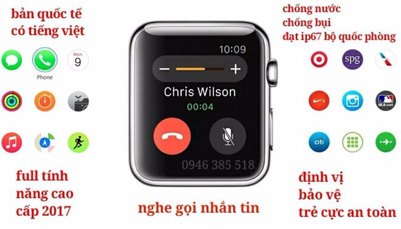 Đồng hồ thông minh nhật bản thay thế điện thoại mã Z119 3