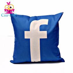 Gối vuông facebook