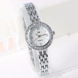 Đồng hồ nữ dây kim loại mắt xích thời trang WH-JW8086
