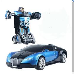 Xe ô tô biến hình thành SIÊU NHÂN TRANSFORMERS điều khiển từ xa
