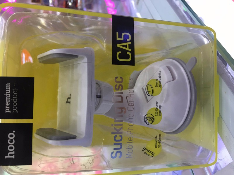 Kệ đỡ điện thoại trên ô tô CA5 Hoco 7
