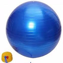 Bóng tập Yoga - Gym loại trơn 75 cm- Tặng kèm bơm