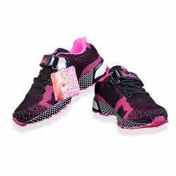 Giày thể thao trẻ em thời trang 31625 đen hồng
