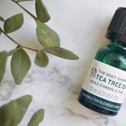 TINH DẦU TRÀM TRÀ TRỊ MỤN KHÁNG KHUẨN TEA TREE OIL THEBODYSHOP