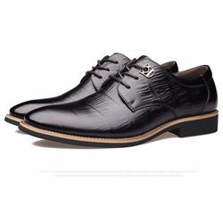 Giày Tây Cao Cấp, da thật - Sang trọng, mẫu mới 2017