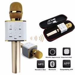 Micro karaoke loa Q7