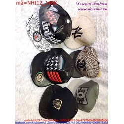 Nón snapback hiphop phong cách Hàn Quốc sành điệu NHI12 View 140,000