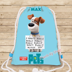 BALO DÂY RÚT THE SECRET LIFE OF PETS - Size Nhỏ