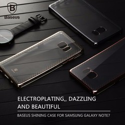 Ốp lưng Galaxy Note 7 Baseus silicon viền màu