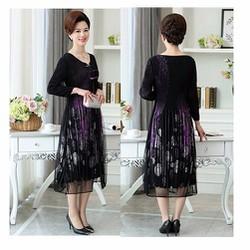 Đầm suông DS25 - free size - hàng nhập
