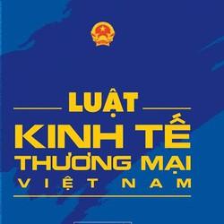 Sách: Luật kinh tế thương mại Việt Nam Song ngữ Việt Anh