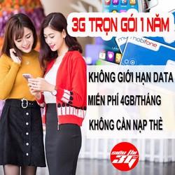 Sim 3G 4G Mobifone F500 Miễn phí 1 năm không nạp tiền