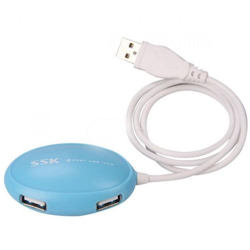 HUB USB 4 CỔNG SSK SHU017 CHÍNH HÃNG