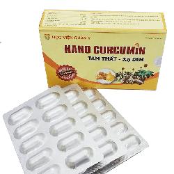 Nanocurcumin tam thất xạ đen giúp hỗ trợ điều trị ung thư