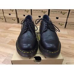 Giày da dr nam chính hãng cổ thấp 3989