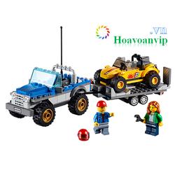 Đồ Chơi Xếp Hình Lego City 60082 - Dune Buggy Trailer