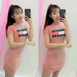 Đầm thun body xinh giá rẻ