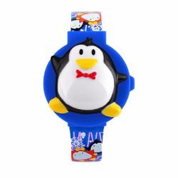 Đồng hồ cho bé skmei hình Chim Cánh Cụt SK093 - Xanh dương