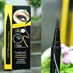 Bút lông kẻ mắt nước 24h Vacosi Waterproof Pen Eyeliner