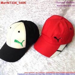 Nón lưỡi trai thể thao với 2 màu trắng đen và trắng đỏ  NT334