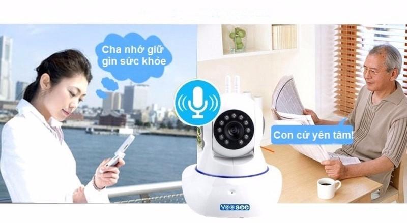 Camera wifi Yoosee - Camera không dây 3