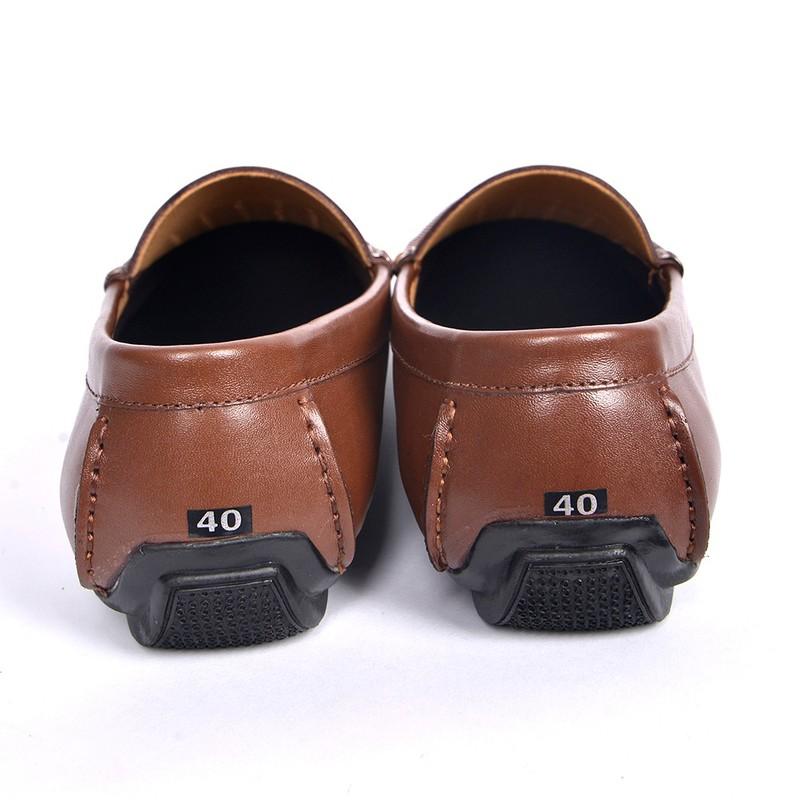 Giày Lười Hè Da Bò Cao Cấp SG160 1